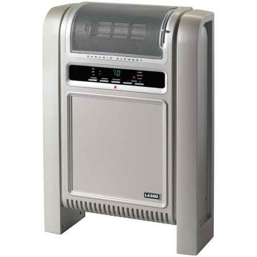 This Compact Lasko 758000 Heater Has A Space Saving Design With A Very Small  Footprint.